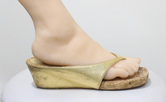 Christian Louboutin Gold Sandals Image 5