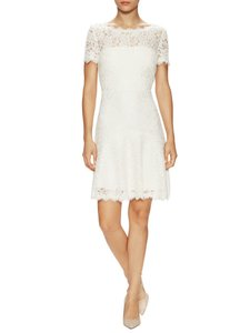 Diane von Furstenberg Fifi Fit And Flare Lace Hollywood Date Dress
