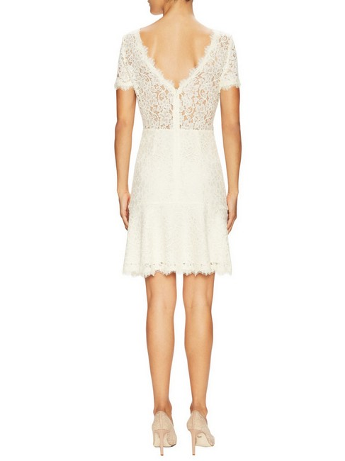 Diane von Furstenberg Fifi Fit And Flare Lace Hollywood Date Dress Image 3