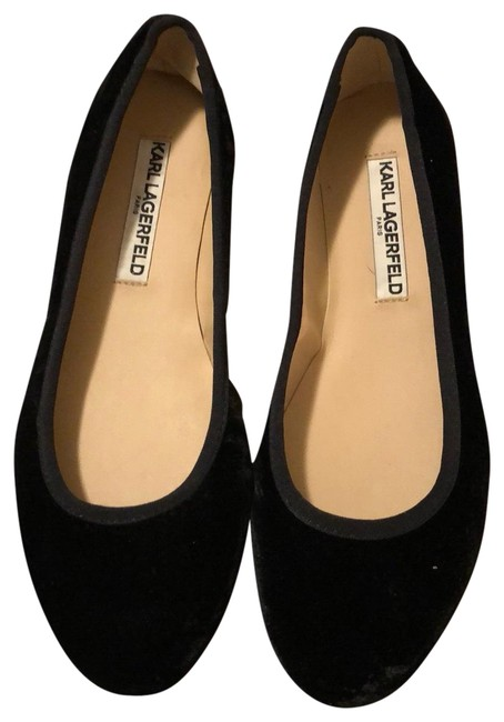 Item - Black Karl Lagerfeld Pumps Size US 7.5 Regular (M, B)