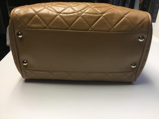 Chanel Satchel in Camel Image 1