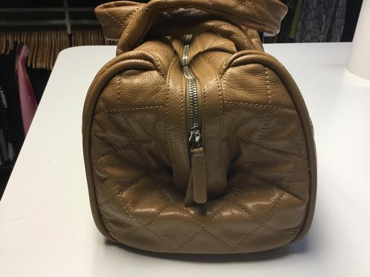 Chanel Satchel in Camel Image 3