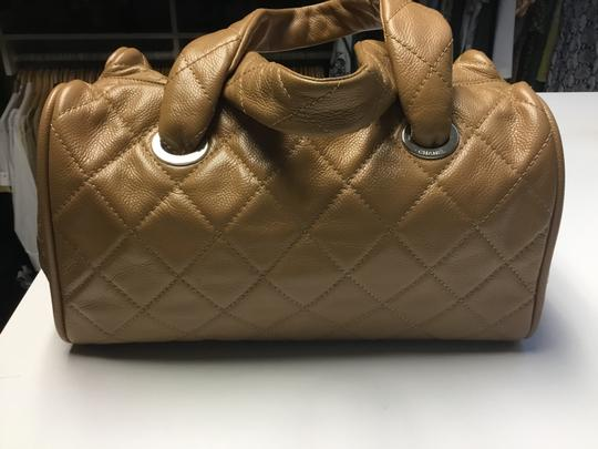 Chanel Satchel in Camel Image 7