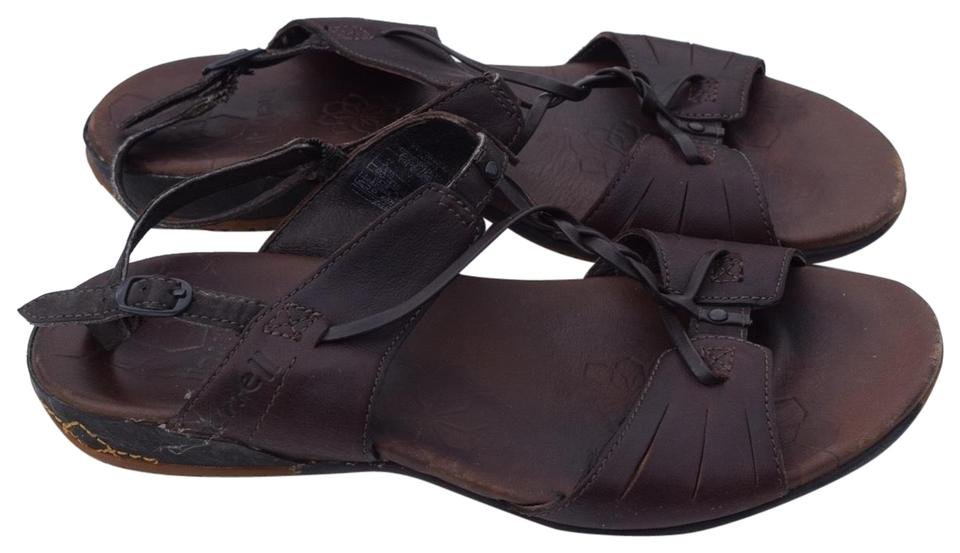 520aa0c13384 Merrell Brown Leather Sandals Size US 6 Regular (M