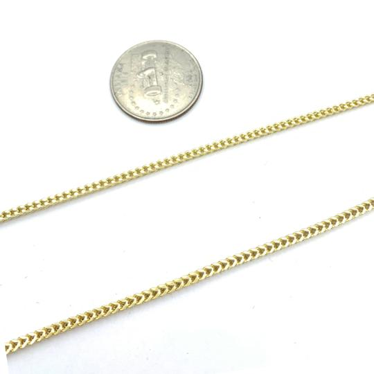 other (772) 10k yellow gold miami cuban chain with diamond king pendant Image 3