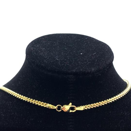 other (772) 10k yellow gold miami cuban chain with diamond king pendant Image 5