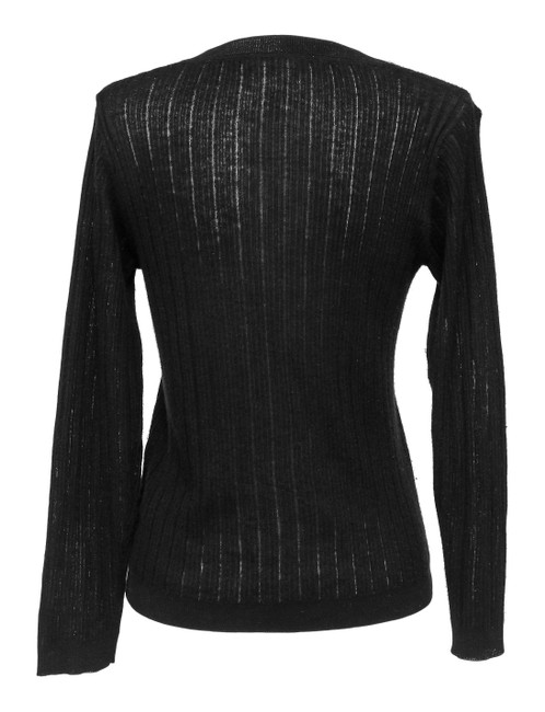 Chloe Cashmere Sweater Cashmere Sweater Long Sleeve Knit Cardigan Image 5