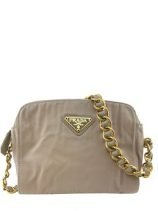 aed28005dd0408 Beige Prada Shoulder Bags - Over 70% off at Tradesy