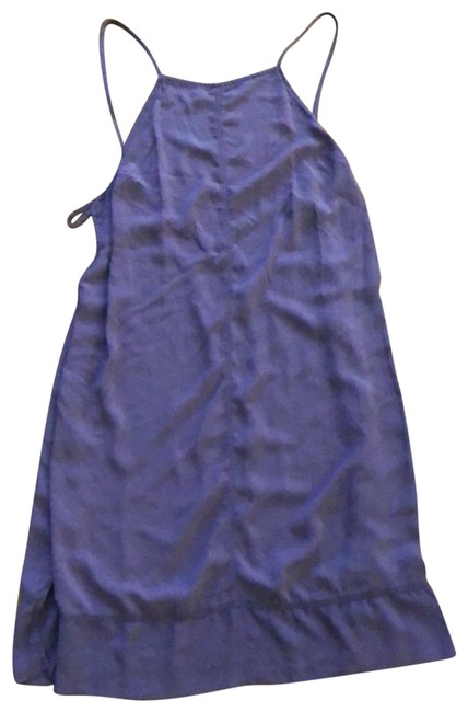Item - Plum Cut-out Back and Sides Short Casual Dress Size 0 (XS)