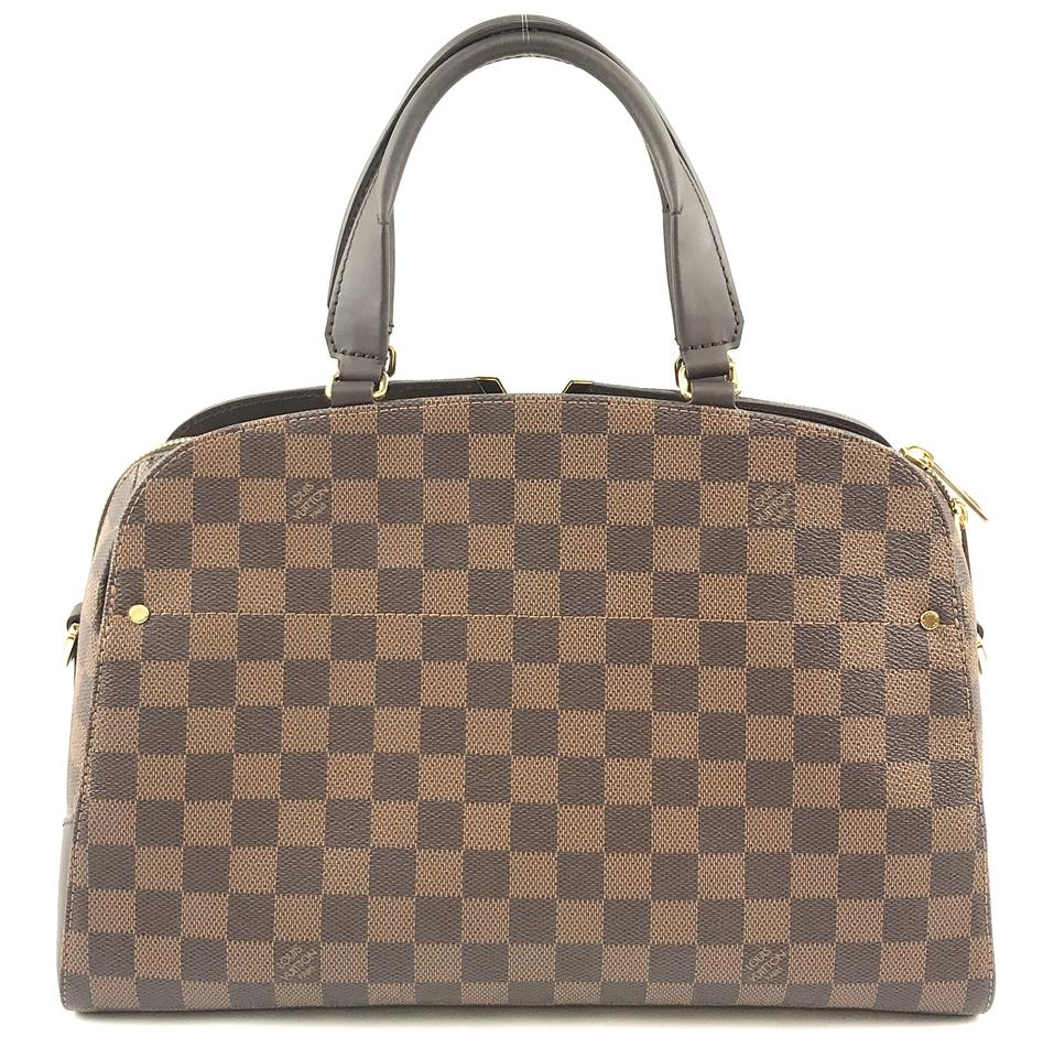eeb91d1723ff Louis Vuitton Kensington  28833 Bowling Long Strap Satchel Damier Ebene  Coated Canvas Shoulder Bag - Tradesy