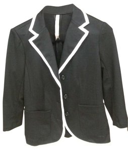 Bailey 44 Black, Ivory Blazer