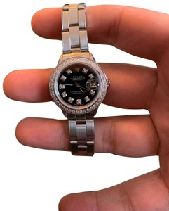 Rolex ladies Rolex Oyster Perpetual Datejust watch