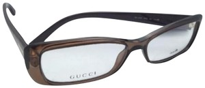 Gucci New GUCCI Eyeglasses GG 3568 WH9 53-14 140 Brown Beige Frame w/Clear