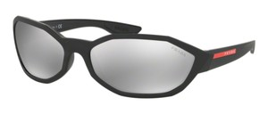 5465750065 Prada New 90 s Style Mirrored SPS 04U 1BO2B0 Free 3 Day Shipping