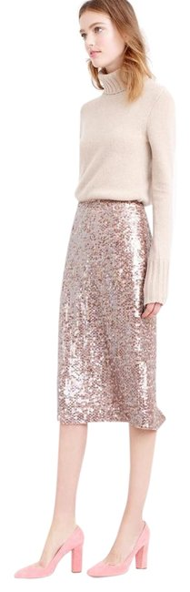 Item - Rose Gold Sequin Skirt Size 2 (XS, 26)