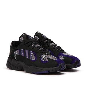 adidas Originals = Pharrell Williams Yung-1 Sneakers Size 6 Black/Purple Athletic