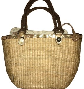 Tory Burch BEIGE Beach Bag