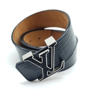 e81dcbc37cf9 Louis Vuitton Louis Vuitton Initiales 40mm Belt Epi Electrique Black