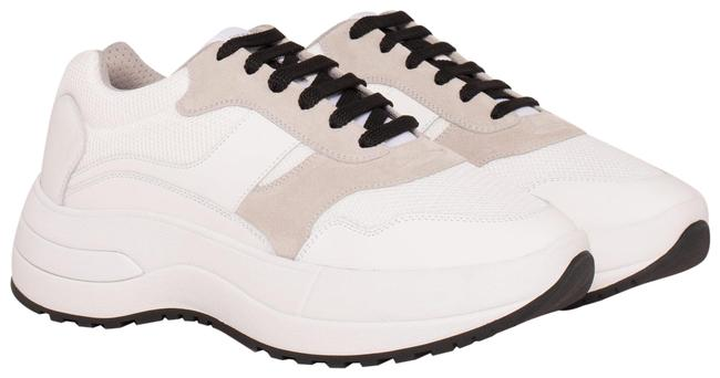 Céline White Optic Delivery Sneakers