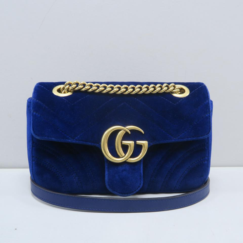 11647c66695 Gucci Marmont Velvet Mini Shoulder Bag Image 11. 123456789101112