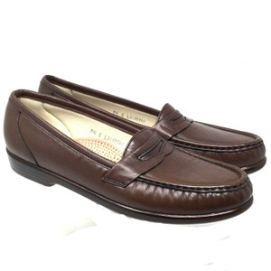 SAS #s120318-09 Loafers Us 9.5 Brown Mules
