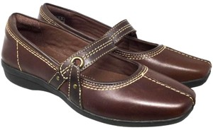 f67d37e7ac0 Clarks Soft Cushion S073018-18 Brown Mules