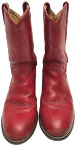 Justin Boots Red Boots