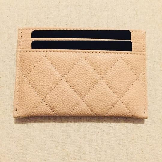 Chanel CHANEL Grained Calfskin Quilted CC Card Casev Image 1