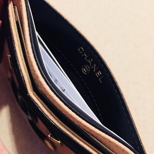 Chanel CHANEL Grained Calfskin Quilted CC Card Casev Image 3