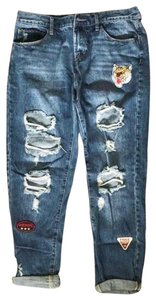 Articles of Society Boyfriend Cut Jeans-Distressed