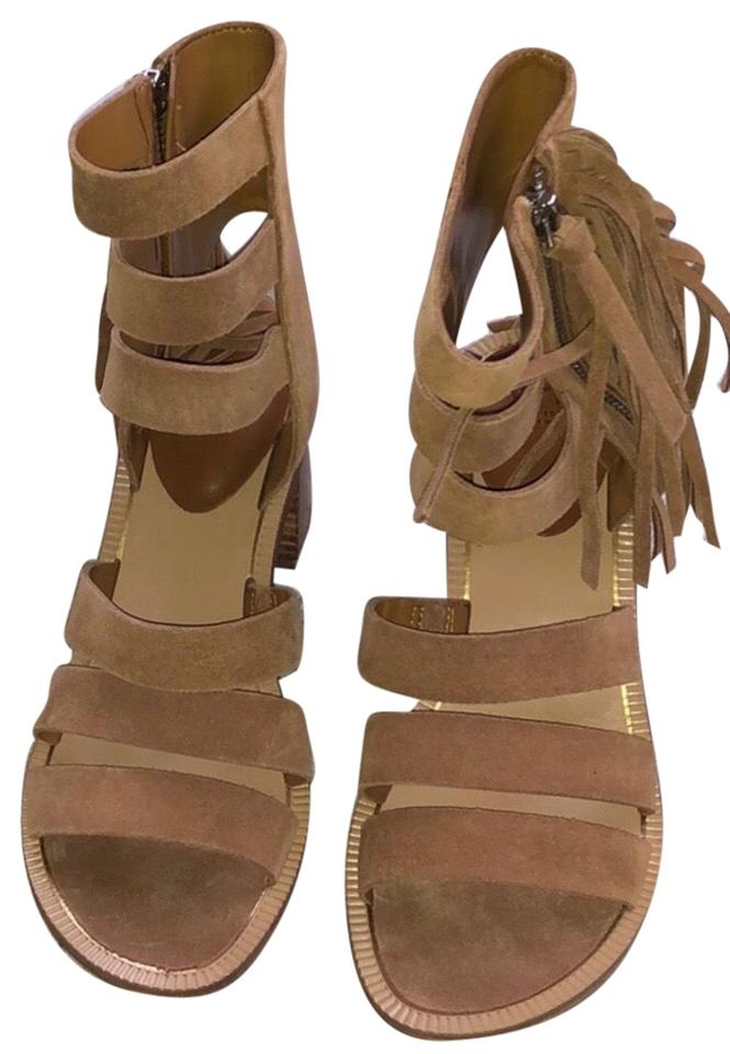 eed11642e Marc Fisher Collin Fringe Sandal Wedges Size US 7.5 Regular (M