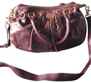 Tory Burch Satchel in maroon