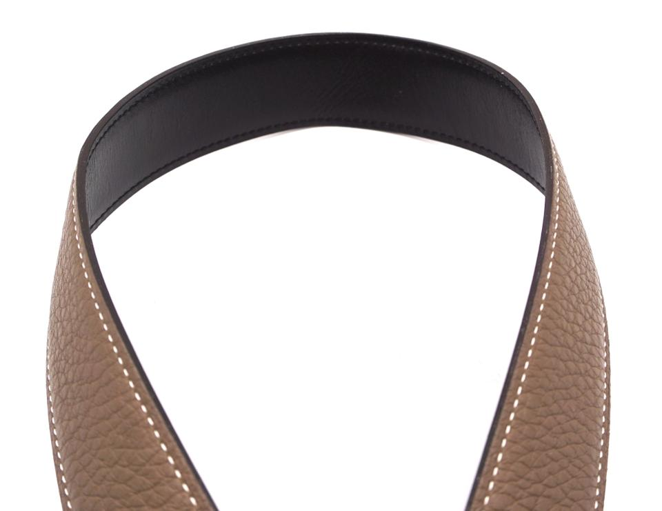 ef78ddc76ae10 Hermès 32Mm Classic Gold H Reversible leather Belt Size 90 Image 10.  1234567891011