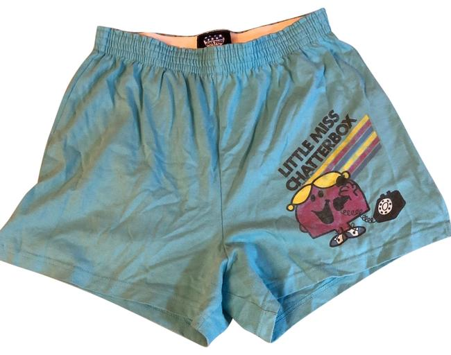 Item - Blue Little Miss Chatterbox Soffe Shorts Size 12 (L, 32, 33)