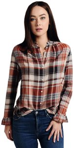 Trovata Button Down Shirt Rust