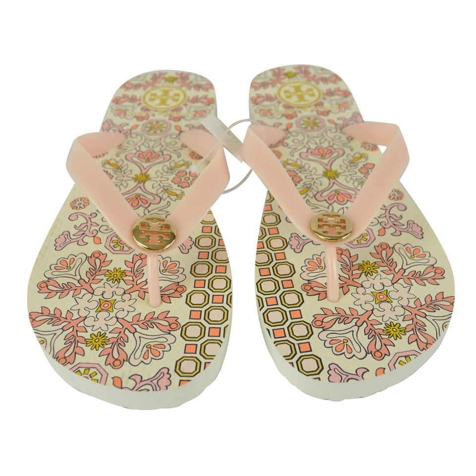8da6fe44d47 Tory Burch Ballet Pink Flip Flop Hicks Garden Womens Sandals Size US 8  Regular (M, B)