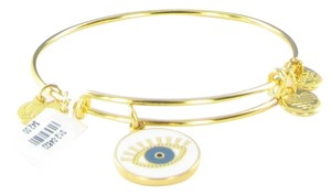 Alex and Ani Charity By Design Meditating Eye Bracelet Shiny Gold CBD17MESG