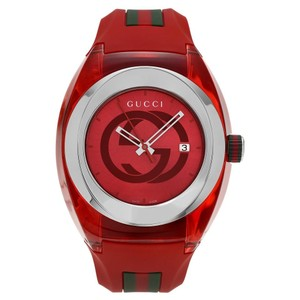 Gucci Gucci Red Sync Xxl Unisex 46mm Ya137103 Watch
