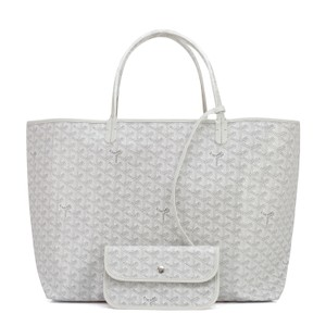 Goyard St Louis St Louis Tote in White