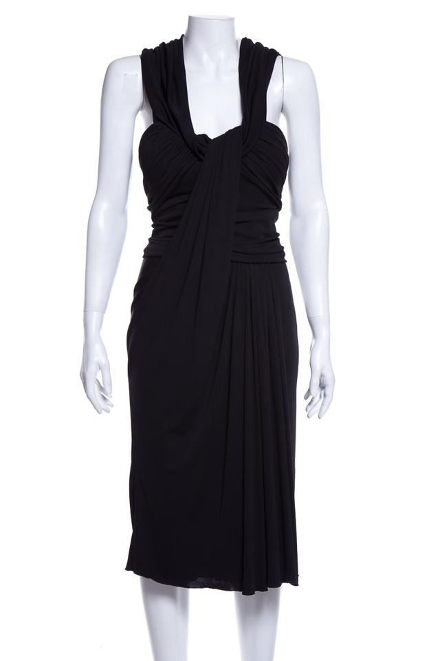 ce3439cd877 Elie Saab Black Detail Short Night Out Dress Size 4 (S) - Tradesy
