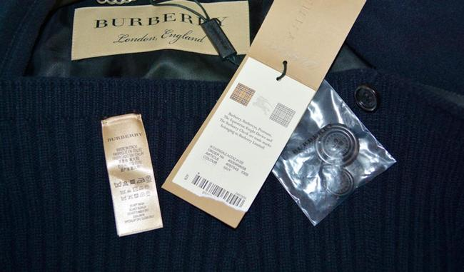 Burberry Wool New Trench Coat Image 11