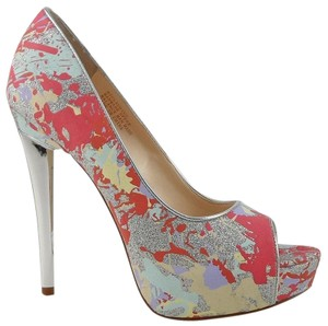Boutique 9 Designer Fashion Platform Multi Glitter Pumps