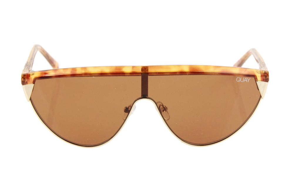 0a799966d0 Quay Brown Goldie Sunglasses - Tradesy