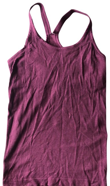 6dc3e4985dd81e Lululemon Plum Purple Fitted Tank with Shelf Bra Activewear Top Size ...