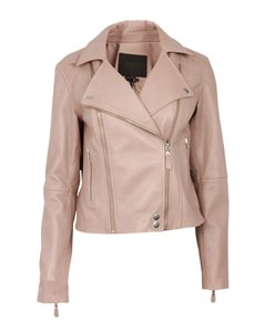 Paige Pink Leather Jacket