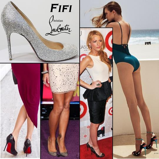 1633ba8a1c9 Details about Christian Louboutin Fifi White Swarovski Strass Wedding Pumps  EU 39 US 8.5