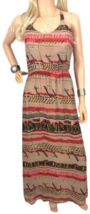 multicolored Maxi Dress by Hive & Honey