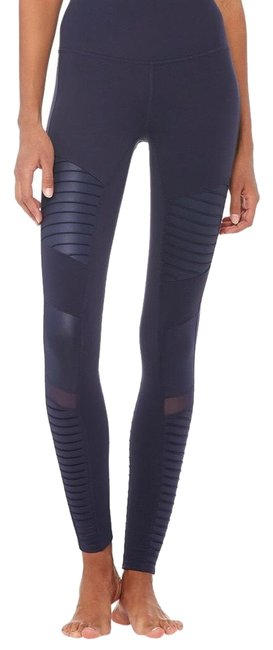 Item - Navy Blue Moto Activewear Bottoms Size 4 (S)