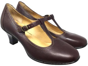 Softspots Mary Jane S073018-06 Brown Mules