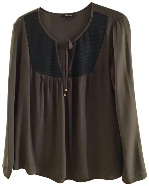 Item - Olive Green Peasant Blouse Size 2 (XS)